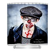 Bloody Youth Shower Curtain