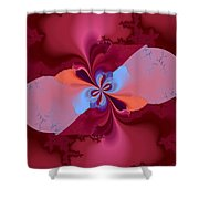 Blooming Color Shower Curtain