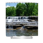 Blossom Road Waterfalls 5123 Shower Curtain