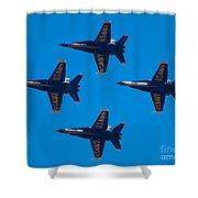 Blue Angels 10 Shower Curtain