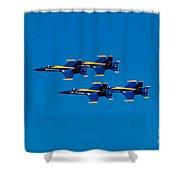 Blue Angels 2 Shower Curtain