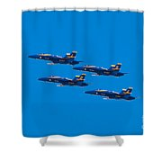 Blue Angels 25 Shower Curtain