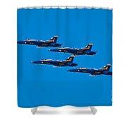 Blue Angels 26 Shower Curtain