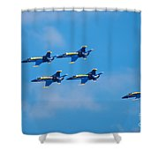 Blue Angels 27 Shower Curtain