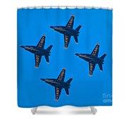Blue Angels 8 Shower Curtain