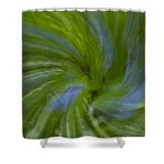 Blue Bells Vortex 4 Shower Curtain