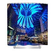 Blue Berlin Shower Curtain