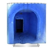 Blue Cave Shower Curtain