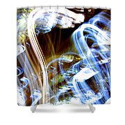 Blue Days Shower Curtain