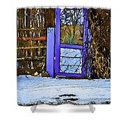 Blue Gate #24 Shower Curtain