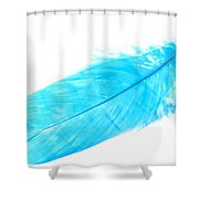 Blue Goose Shower Curtain