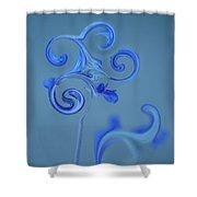 Blue Heaven Shower Curtain