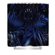 Blue Jade Fx  Shower Curtain