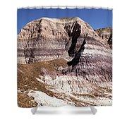 Blue Mesa Castle Shower Curtain