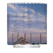 Blue Mosque Shower Curtain