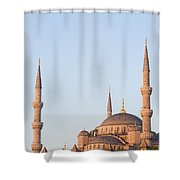 Blue Mosque In Istanbul Shower Curtain