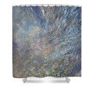 Blue Nebula #1 Shower Curtain