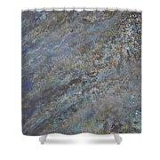 Blue Nebula #2 Shower Curtain