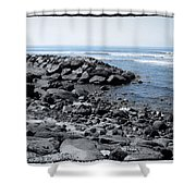 Blue Pacific Shower Curtain