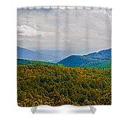 Blue Ridge Panorama Shower Curtain