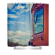 Blue Skies Ahead Shower Curtain