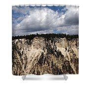 Blue Skies And Grand Canyon In Yellowstone Shower Curtain