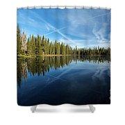 Blue Sky Art Shower Curtain