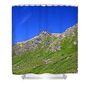 Blue Sky's Shower Curtain