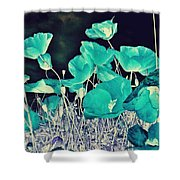 Blue Vision Shower Curtain