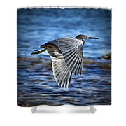 Blue Waters V2 Shower Curtain