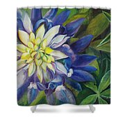 Bluebonnet Daze Shower Curtain