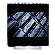 Blues Harps  Shower Curtain