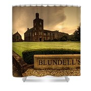 Blundell's School Shower Curtain