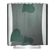 Blurcards Side Shower Curtain