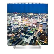 Blurred View Towards An Object Shower Curtain