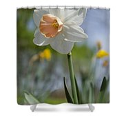 Blushing In The Garden Shower Curtain