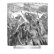 Boadicea (d. 62 A.d.) Shower Curtain