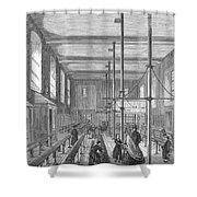 Boarding School, 1862 Shower Curtain