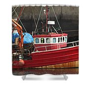 Boat 0001 Shower Curtain