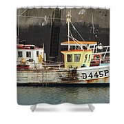 Boat 0002 Shower Curtain