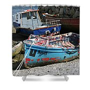 Boat 0003 Shower Curtain