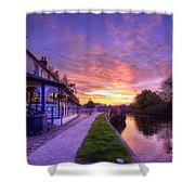 Boat Inn Sunrise 1.0 Shower Curtain