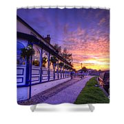 Boat Inn Sunrise 2.0 Shower Curtain