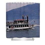 Boat Race Shower Curtain