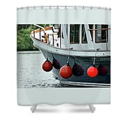 Boat Time Shower Curtain