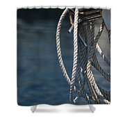 Boating Time Shower Curtain