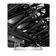 Boatwrights Shower Curtain