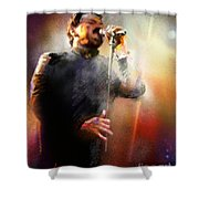 Bobby Kimball From Toto 01 Shower Curtain