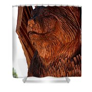 Bobcat Closeup Shower Curtain