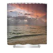 Boca Grande Florida Sunset Shower Curtain